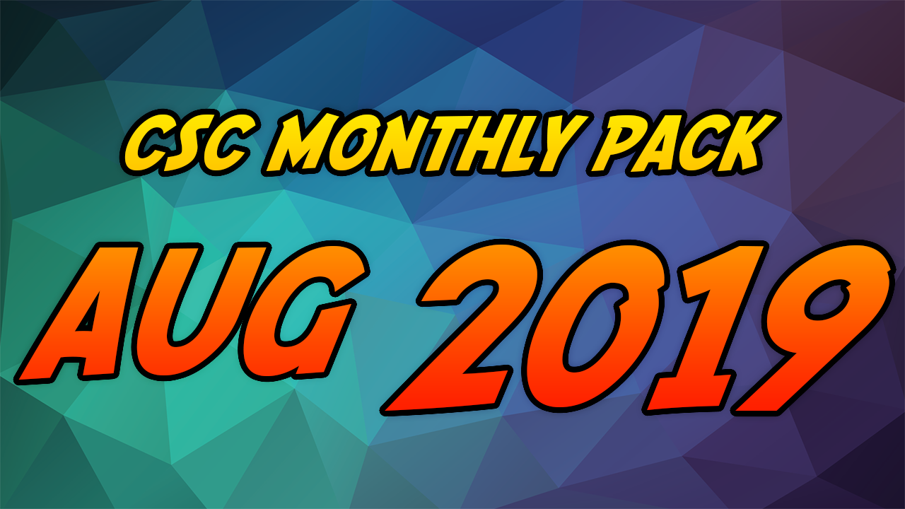 August 2019 - Video Games 2