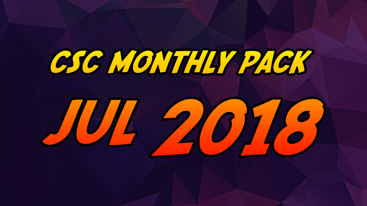 July 2018 - Extreme Pack 1